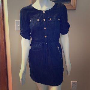 DKNY JEANS denim dress. Size small